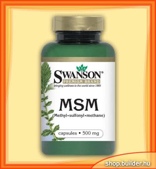 Swanson MSM 100 kap.
