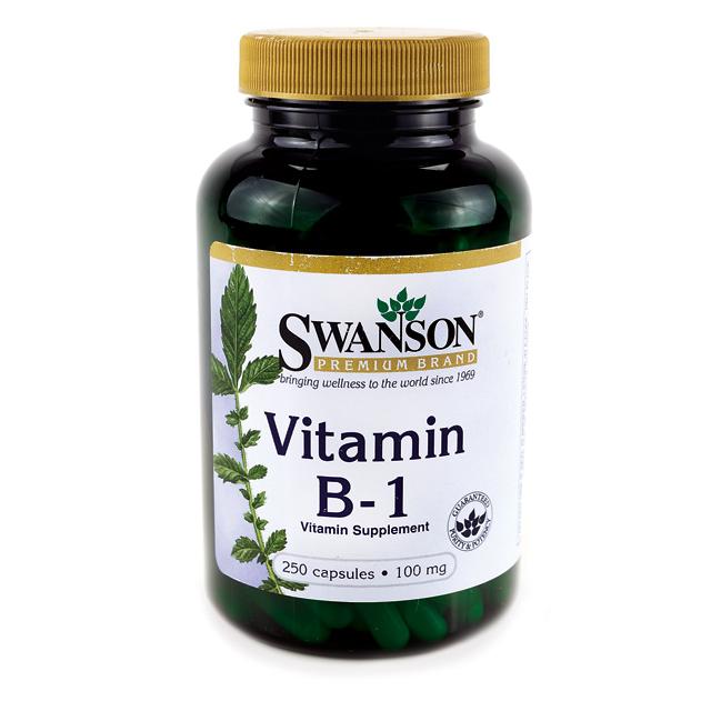 Swanson Vitamin B-1 (Thiamin) 250 kap.
