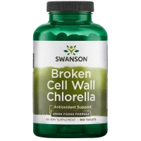 Swanson Broken Cell Wall Chlorella (360 tab.)