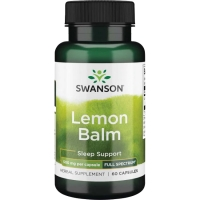 Swanson Full Spectrum Lemon Balm (60 kap.)