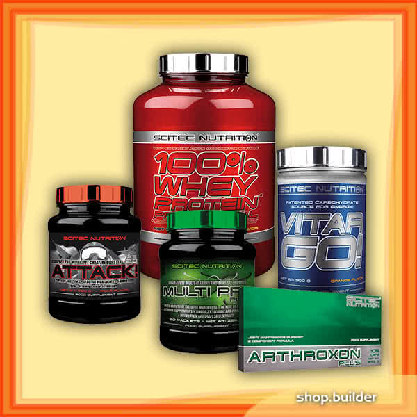 Ostali preparati Builders Muscle Stack set