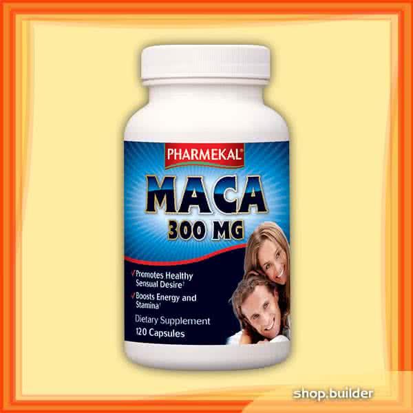 Pharmekal Maca 300 mg 120 kap.