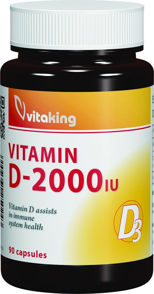 VitaKing Vitamin D-2000 90 kap.