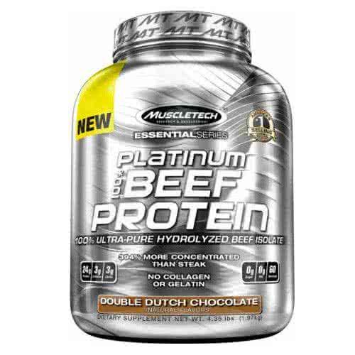 MuscleTech Platinum 100% Beef Protein 1,86 kg