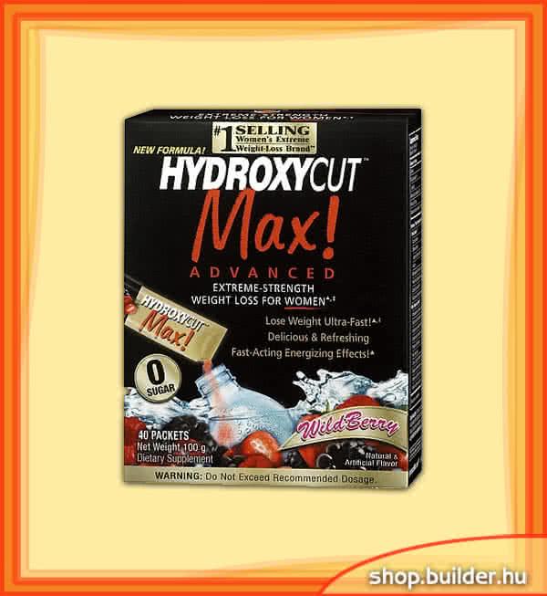 MuscleTech Hydroxycut Max Advanced Instand Drink Packets 40 pak.