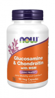Now Foods Glucosamine & Chondroitin with MSM (90 kap.)