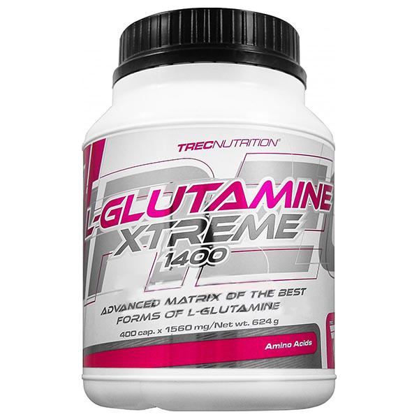Trec Nutrition L-Glutamine Xtreme 1400 400 kap.