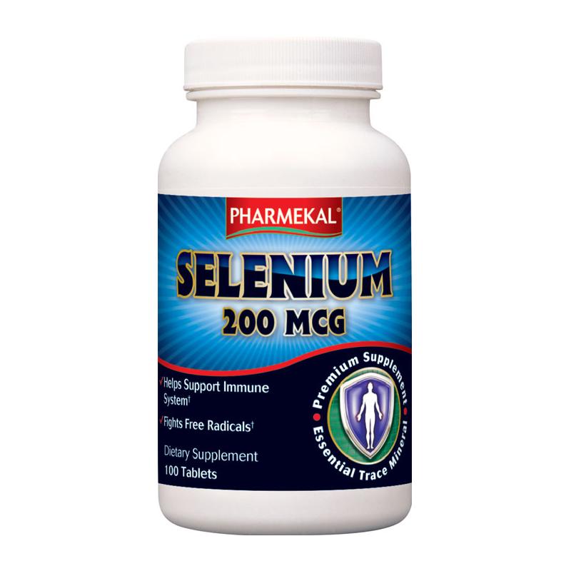 Pharmekal Selenium 200 mcg 100 tab.