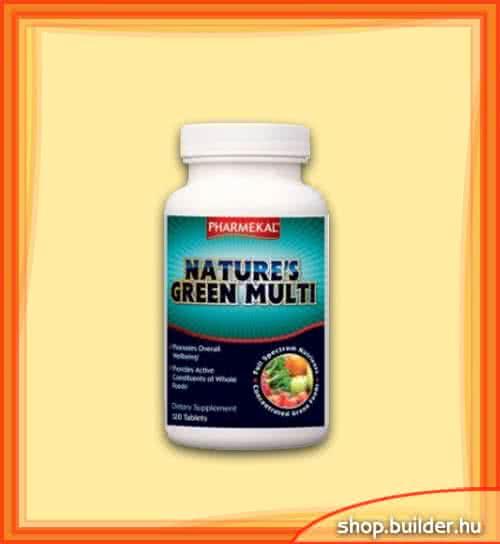 Pharmekal Natures Green Multi Vitamin 120 tab.