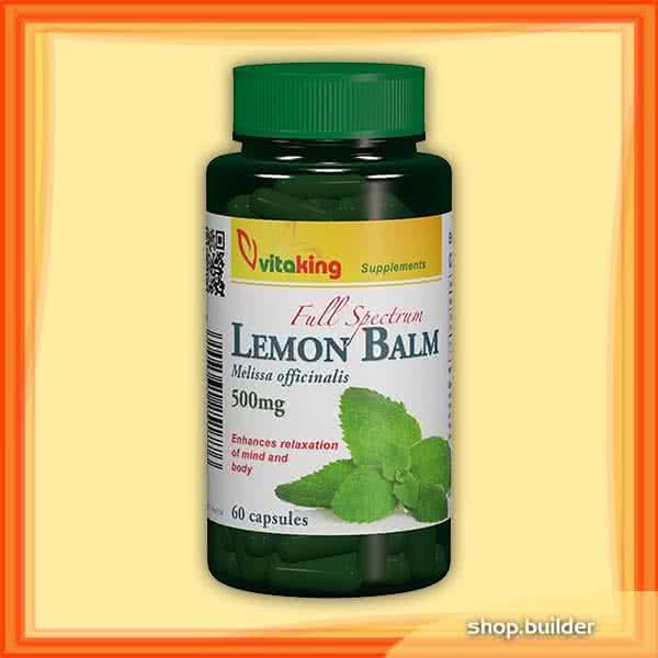 VitaKing Lemon Balm 60 kap.