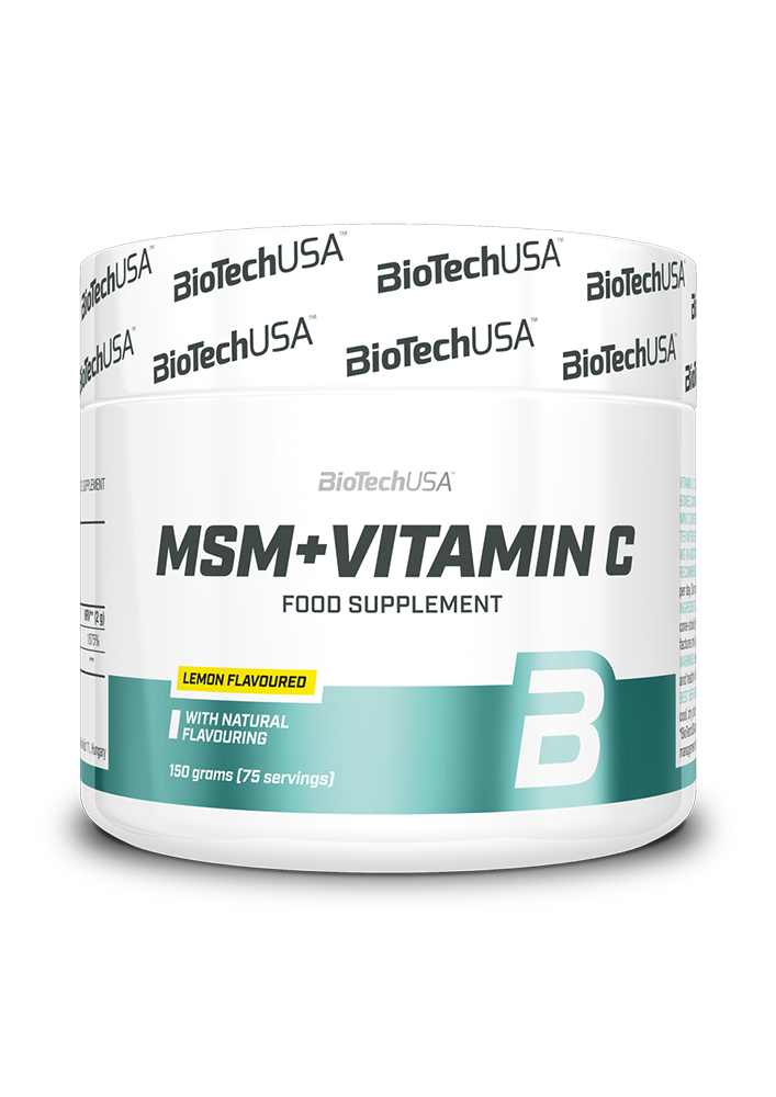 BioTech USA MSM Plus vitamin C 150 gr.