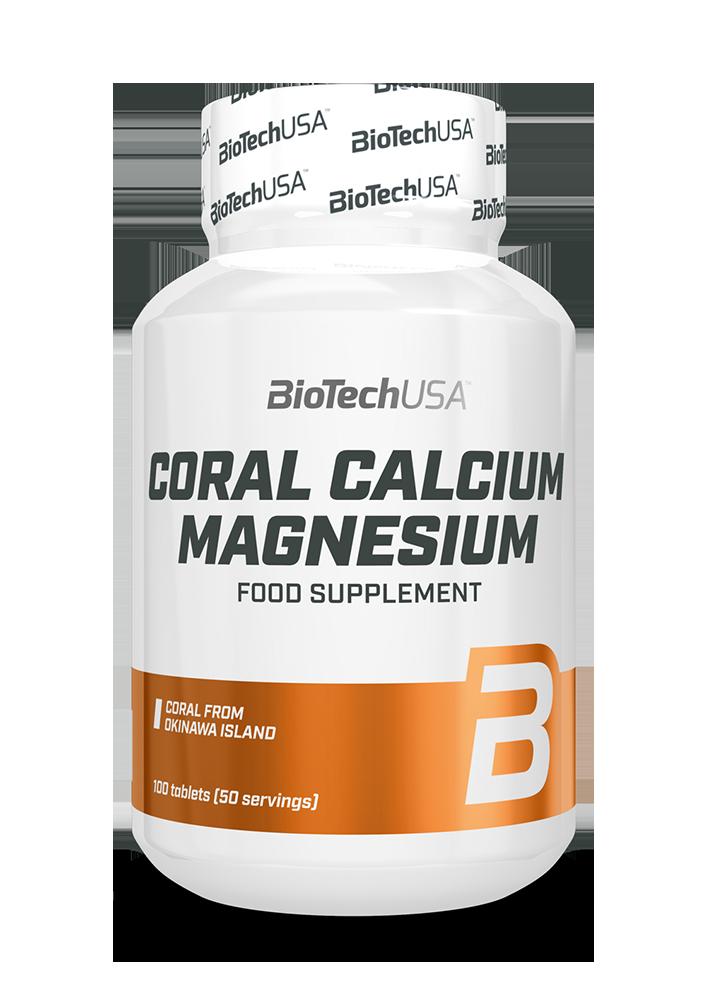 BioTech USA Coral Calcium-Magnesium 100 tab.
