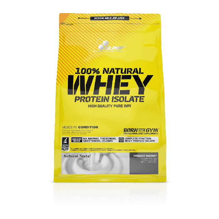 Olimp Sport Nutrition 100% Natural Whey Protein Isolate 0,6 kg